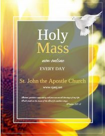 WATCH: Daily/Sunday Masses